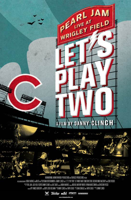 PEARL JAM LIVE AT WRIGLEY LET'S PLAY TWO