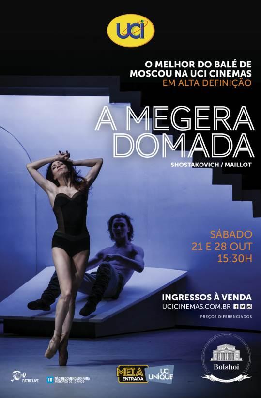 BALLET BOLSHOI: A MEGERA DOMADA 17/18