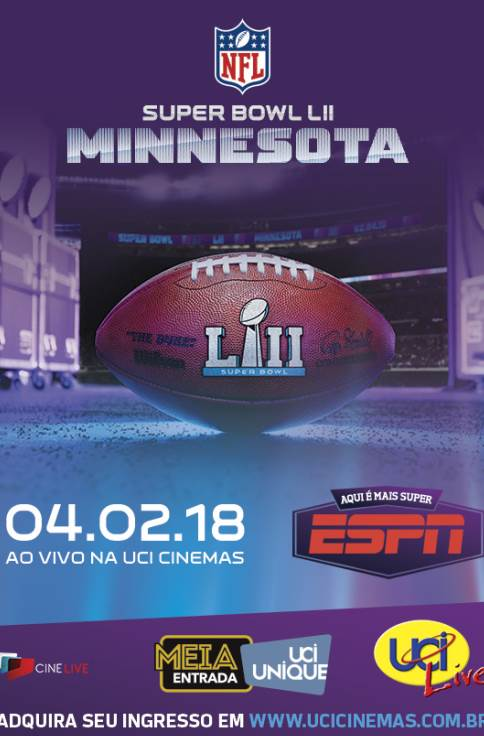 SUPER BOWL LII AO VIVO