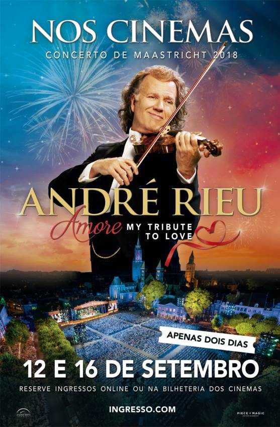 ANDRE RIEU 2018 - AMORE, MY TRIBUTE TO LOVE